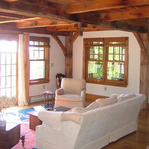 Horse farm guest cottage